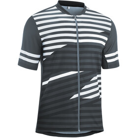 Gonso Agno Full-Zip SS Bike Shirt Men graphite